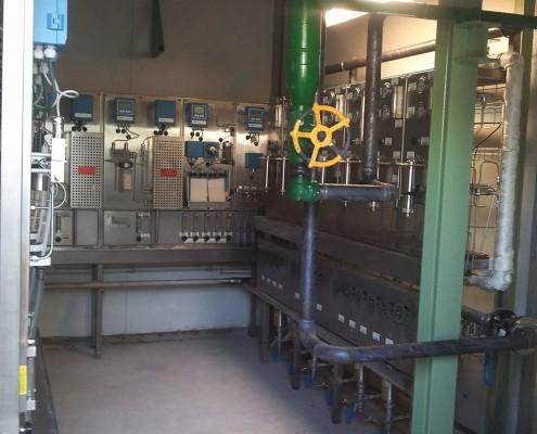 ENERGYWORKS VALLADOLID Panel Control Quimico