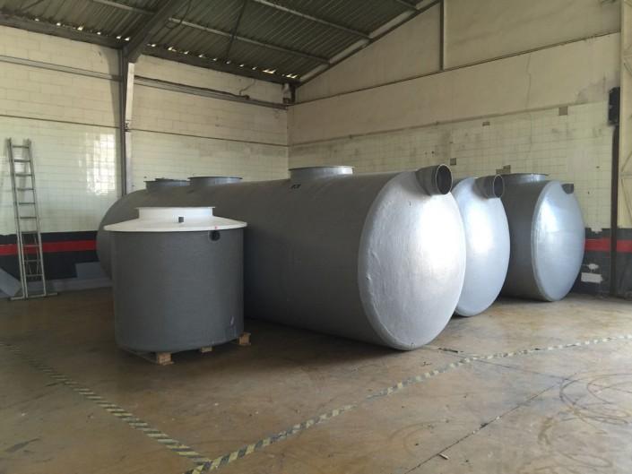 Tanques para tratamiento de aguas PTE Dulces Nombres