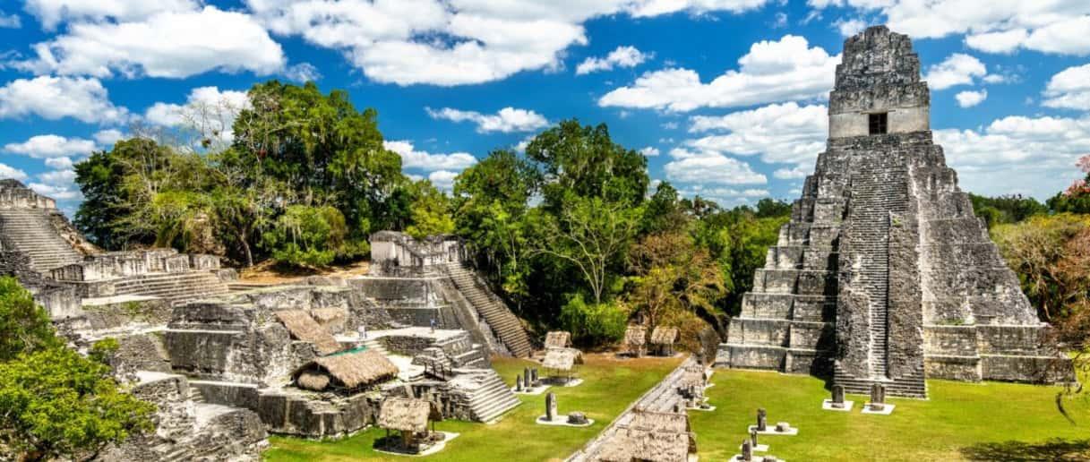 Un sistema de tratamiento de agua en la civilización Maya