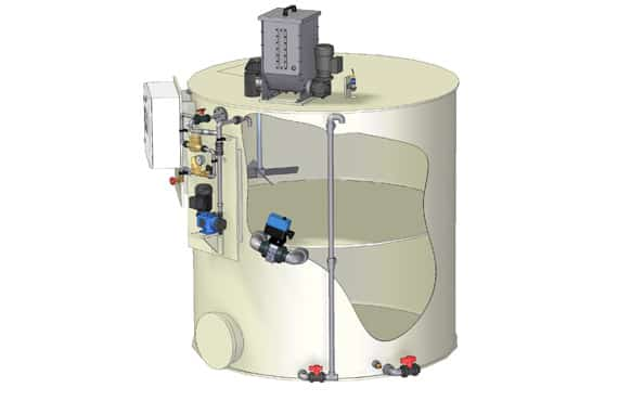 Sistemas de preparación de polielectrolitos Sera PolyLine Double | BlueGold distribuidor oficial