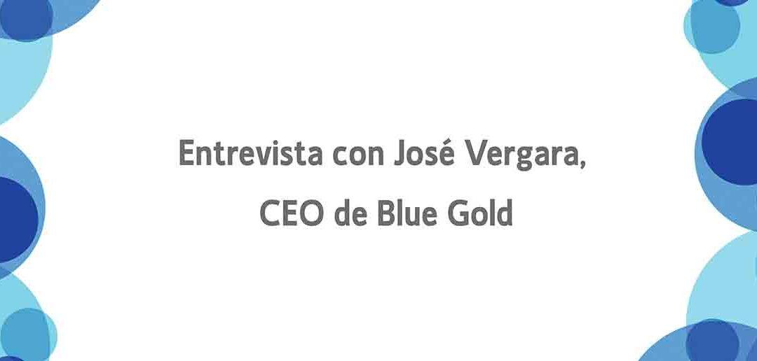 José Vergara CEO de Blue Gold