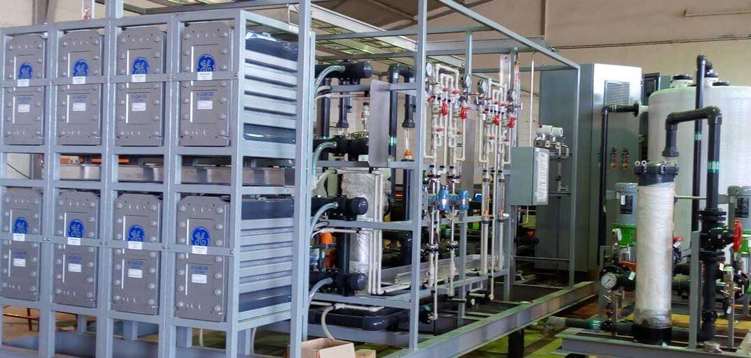 Análisis de la tecnología del sistema de electrodesionización EDI